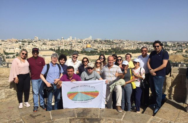 Group on the Mount of Olives
